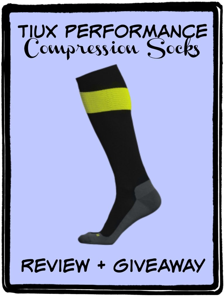 Tiux Performance Compression Socks – Review + Giveaway (closed)