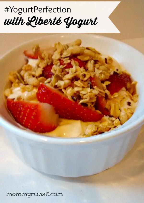 Breakfast Berry Parfaits with Liberté Yogurt + $15 PayPal #Giveaway! #YogurtPerfection #ad   Mommy Runs It