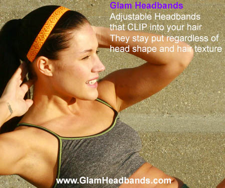 Glam Headbands Giveaway   Mommy Runs It