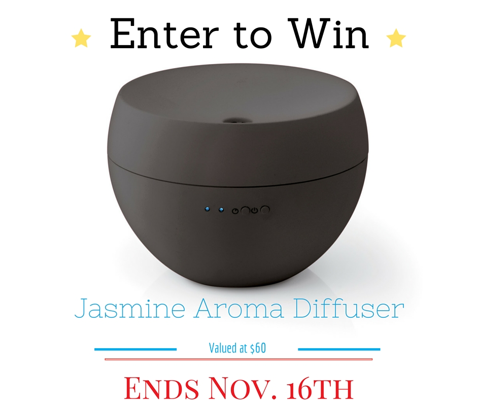 Giveaway: Ultrasonic Aroma Diffuser #2015HGG