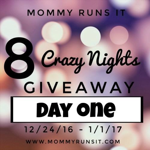 8 Crazy Nights of Giveaways: Day One | Mommy Runs It