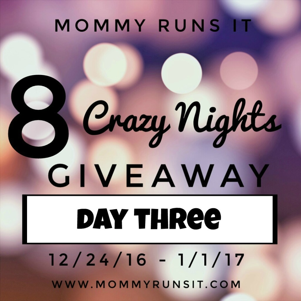 8 Crazy Nights of Giveaways: Day Three