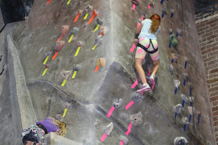Kids Indoor Rock Climbing | Mommy Runs It