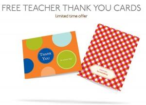 teacher thank yous