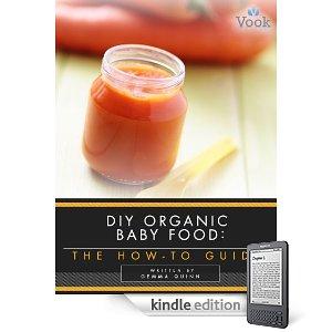 diy organic baby food kindle freebie
