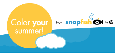 snapfish color your summer contest