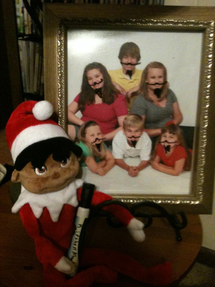 Bad Elf On The Shelf Ideas Naughty Elf Poses