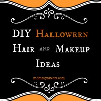 DIY Halloween Hair and Makeup Ideas - Mommysavers