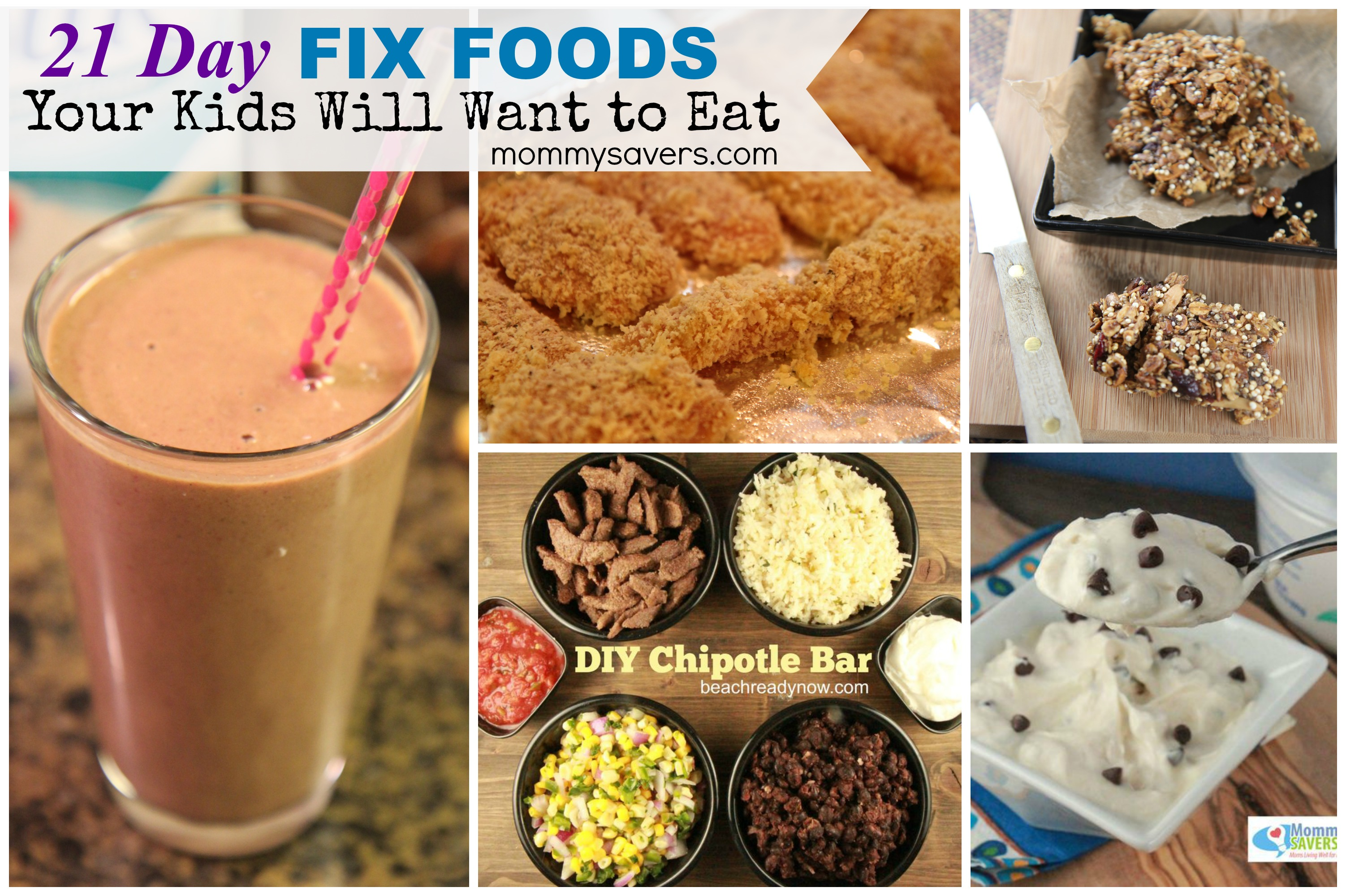 21 Day Fix Approved Foods