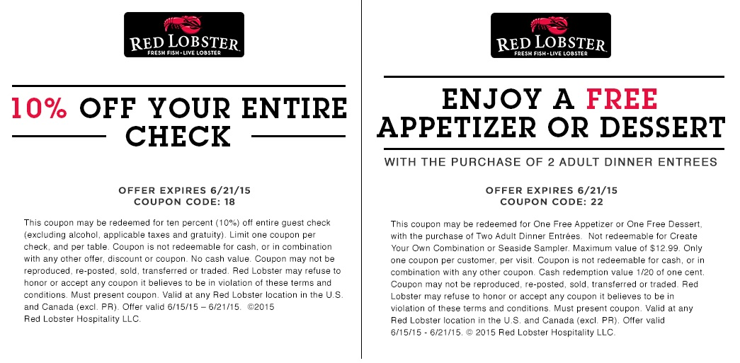 In Store Print Coupon For A Free Appetizer Or Dessert When You Purchase Two  Adult Entrees