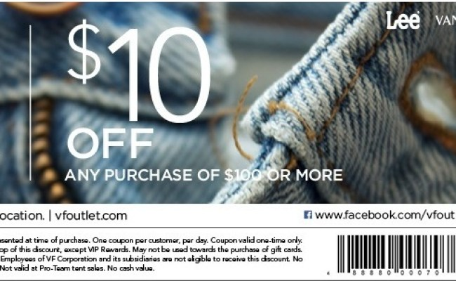 Vanity Fair Coupons Vf Outlet Printable Coupons 2019