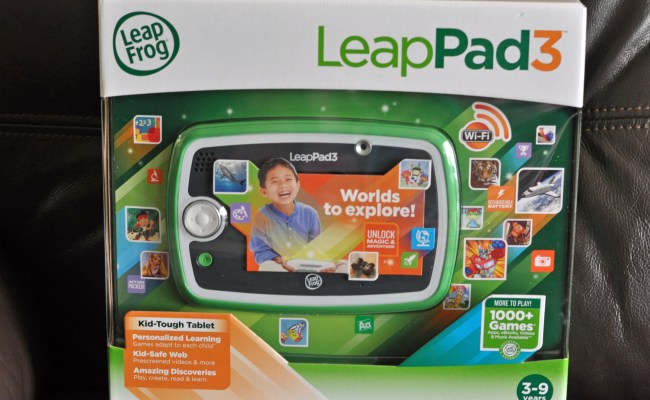Play Create Learn With The New Leappad3 Learning Tablet