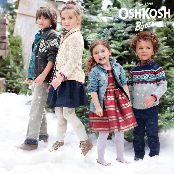 Givehappy Holiday Season With Oshkosh Gosh - Mommy