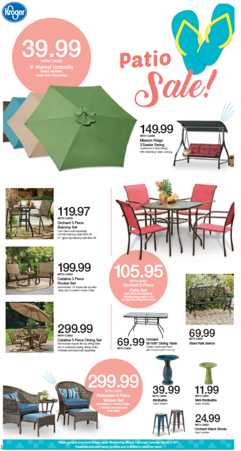 perfection with patio furniture