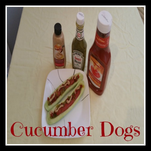 Simple Healthy Yummy Cucumber Dog
