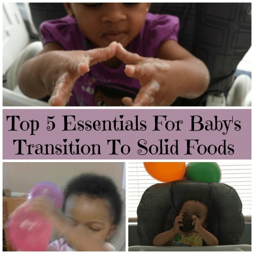 Top 5 Essentials For Baby's Transition To Solid Foods