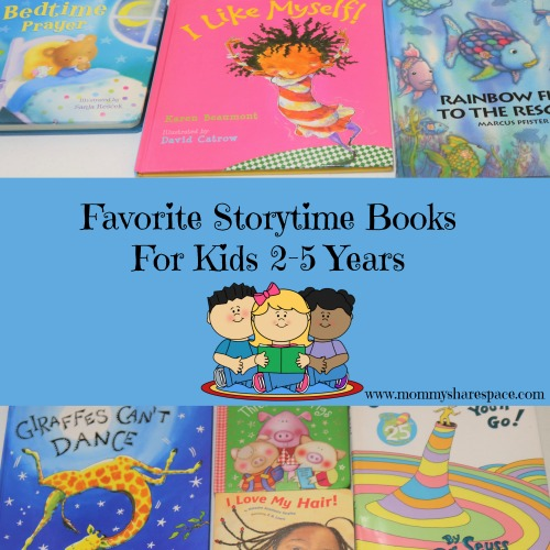 Favorite Storytime Books For Kids 2-5 Years