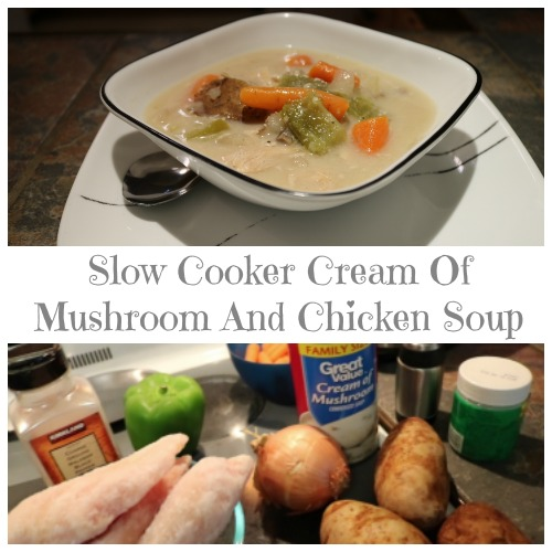 Slow Cooker Cream Of Mushroom And Chicken Soup
