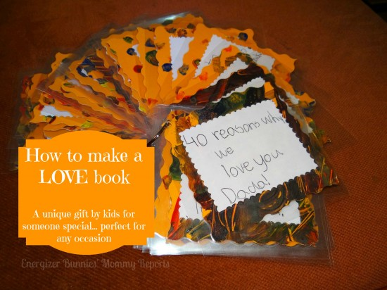 How To Make A LOVE Book Unique Kids Handmade Gift