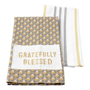 Gratefully Blessed Tea Towel Set