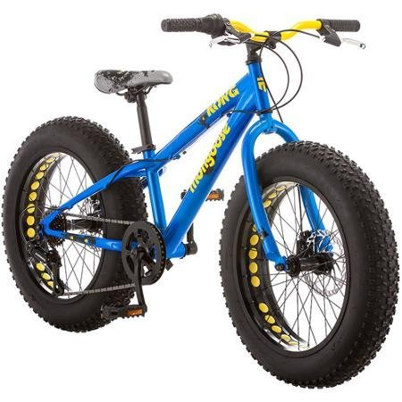 Mongoose Kong Boy's Fat Tire Bicycle