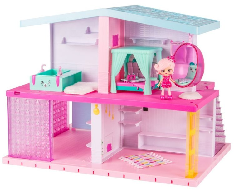 Happy Places Shopkins Mansion #ChristmasGifts