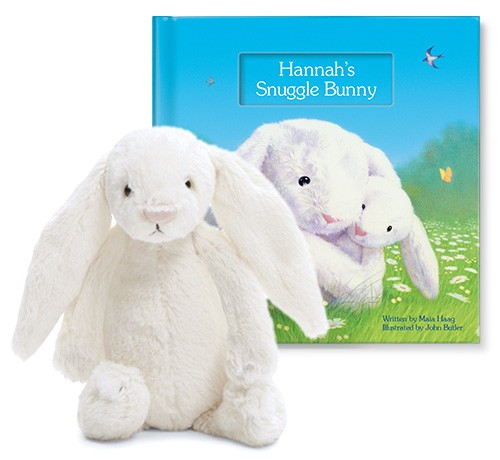 My Snuggle Bunny Gift Set by I See Me Personalized Gifts