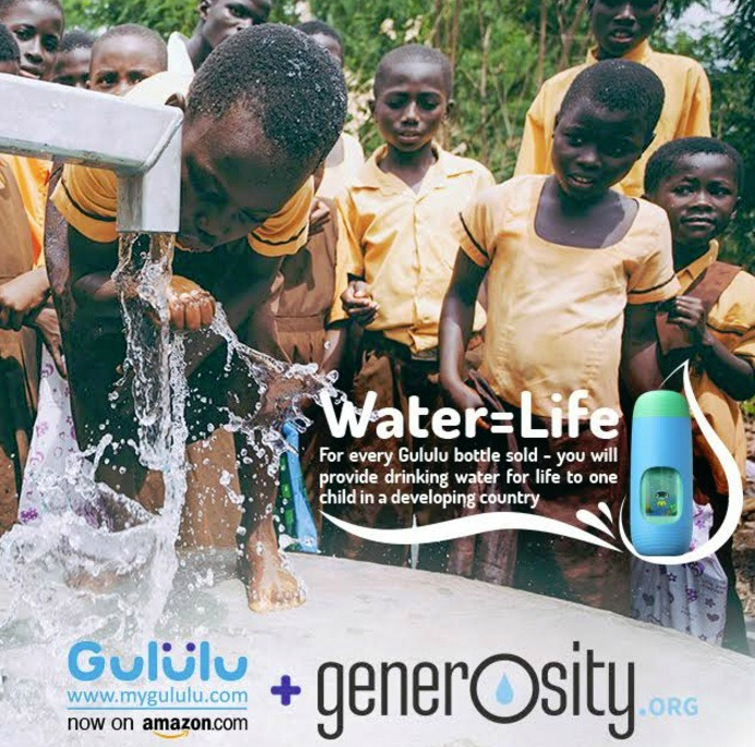 Gululu Water = Life Generosity.org Partnership