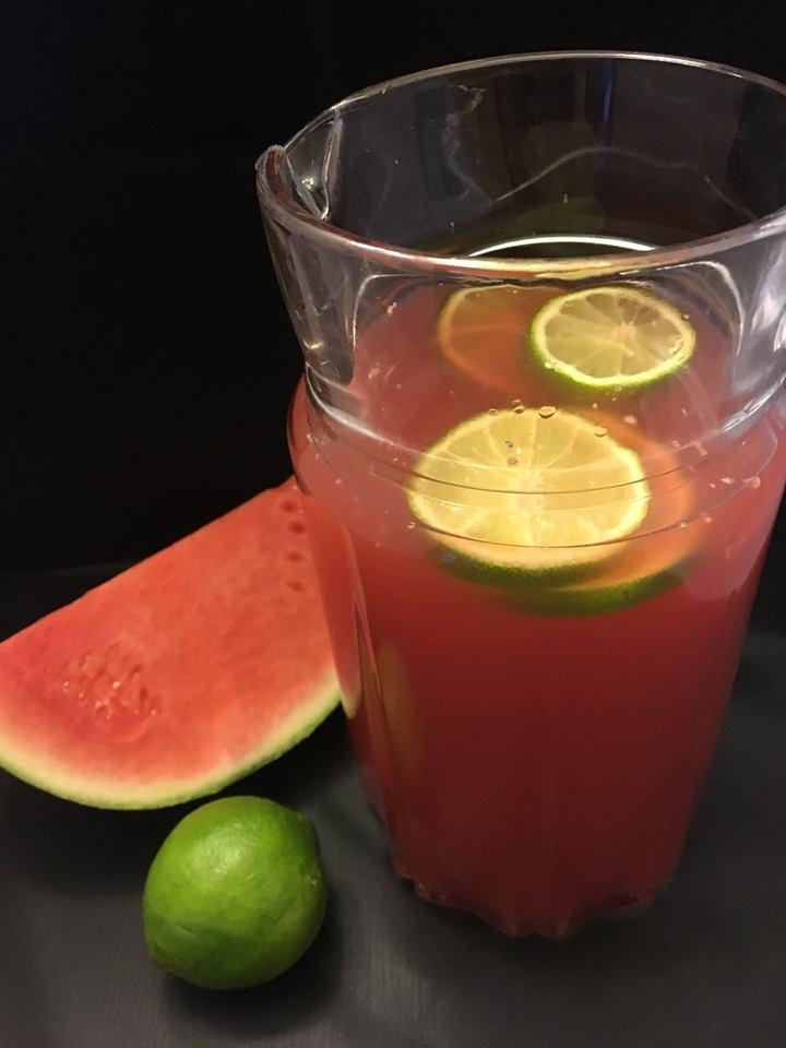 Watermelon Lime Iced Tea at Home