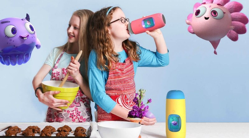 Keep Kids Hydrated this Summer with Gululu Interactive Water Bottle