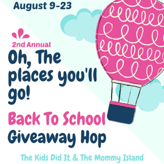 Oh the Places You'll Go Back to Schol Giveaway Hop!