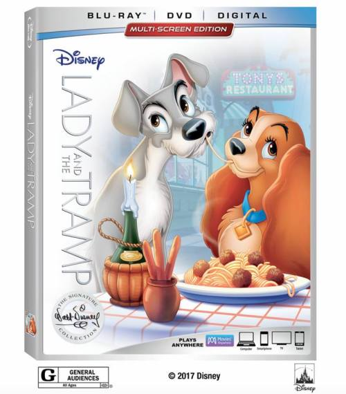Lady And The Tramp Blu Ray