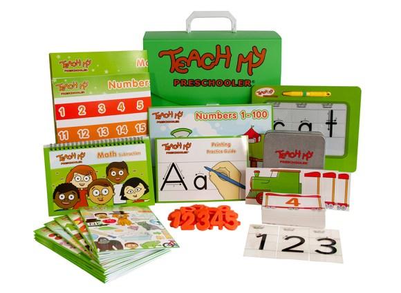 Teach My Preschooler Educational Learning Kit #TeachMy #EducationalLearningKits #Curriculum