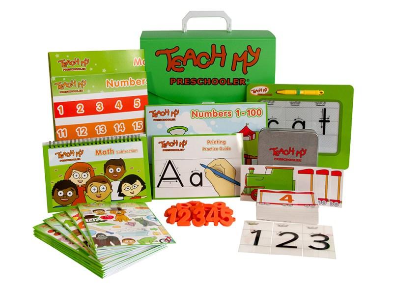 Teach My Preschooler Educational Learning Kit