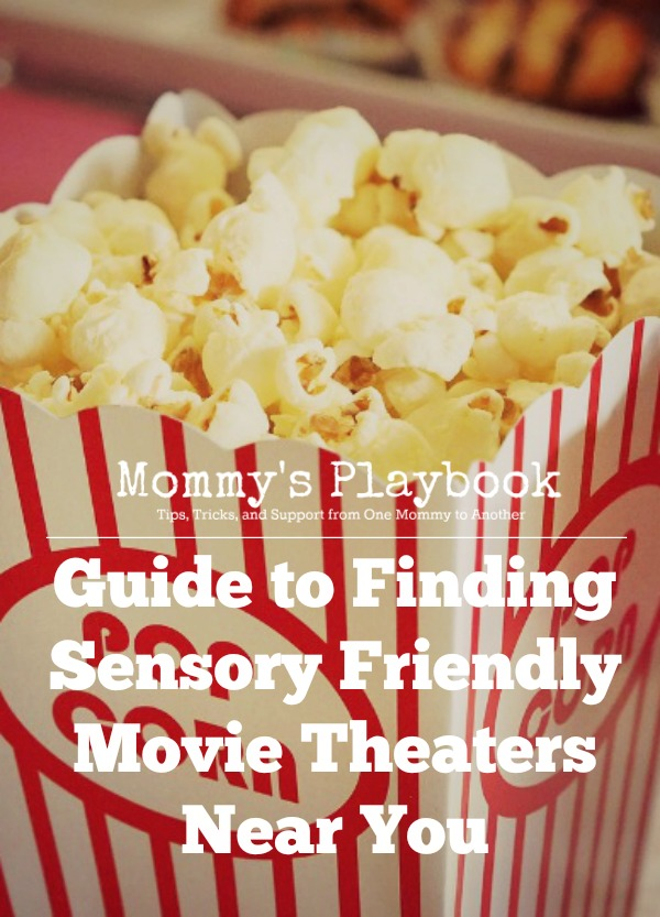 Guide to Finding Sensory Friendly Movie Theaters Near You #Autism #SPD #Sensory #SensoryFriendly #ASD