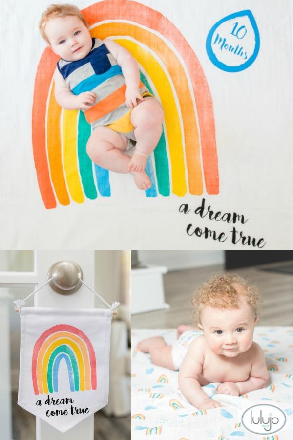 Lulujo Baby Blankets and Nursery #Baby #BabyGifts #InfantPhotography #Baby