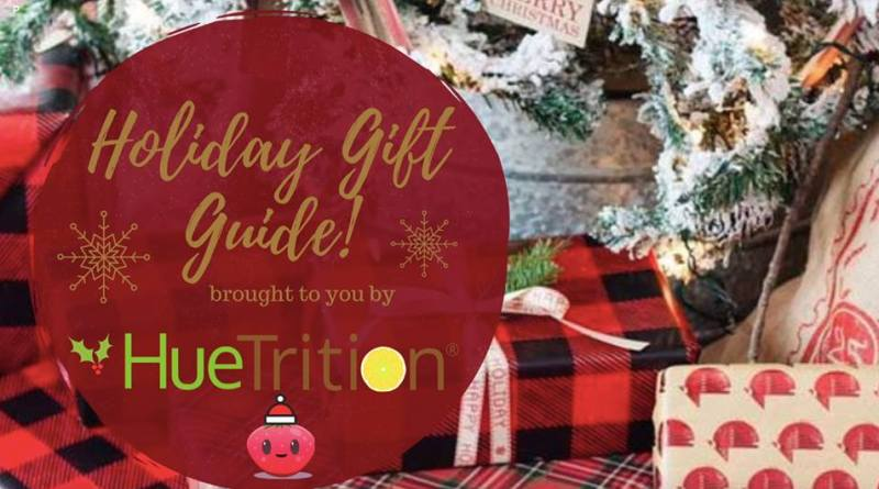 HueHoliday Gift Guide from HueTrition #huetrition #eathues #eattherainbow #christmas #holidays #family #gifts