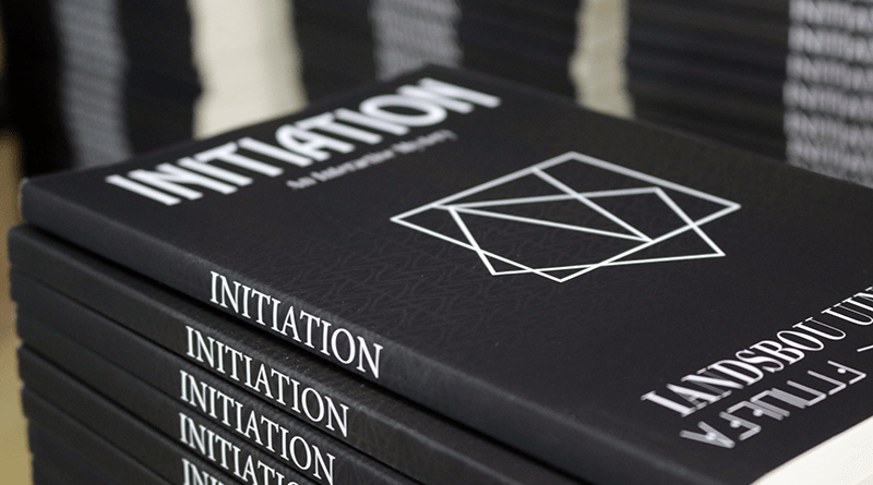 Enter to Win an Initiation Book #PuzzlePause