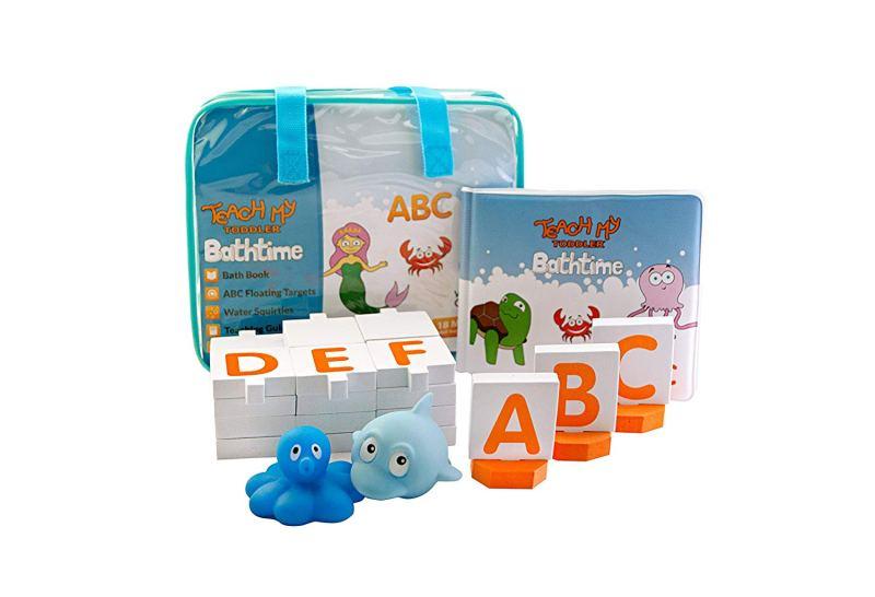 Teach My Toddler Bathtime Learning Kits and Toys #TeachM #Toddler