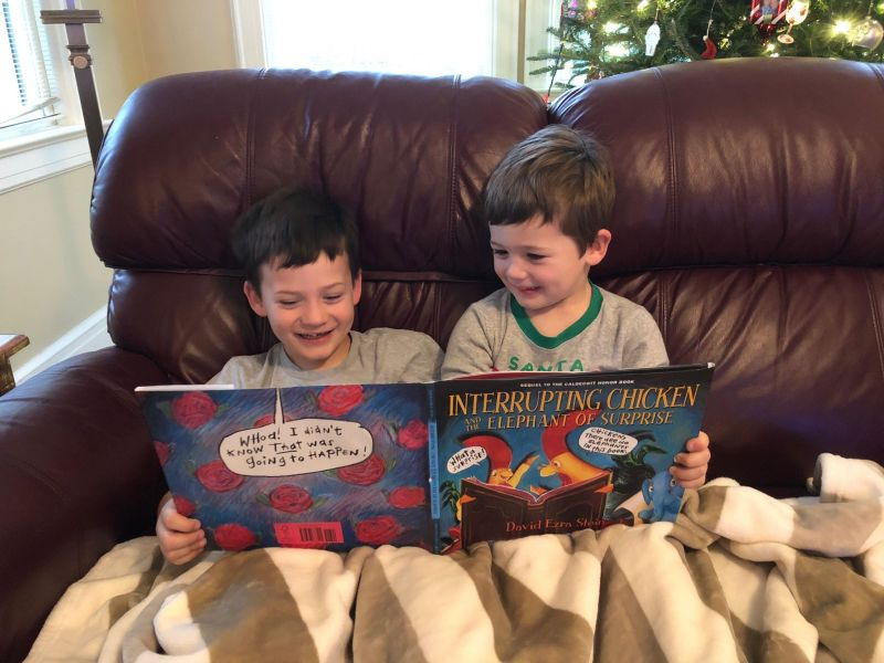 Candlewick Press, Interrupting Chicken and the Elephant of Surprise #KidsGiftsBboxx #ad