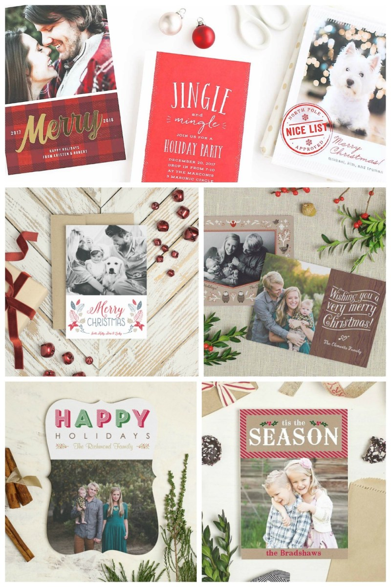 Basic Invite Holiday Photo Cards #HolidayPhotos #ChristmasCards