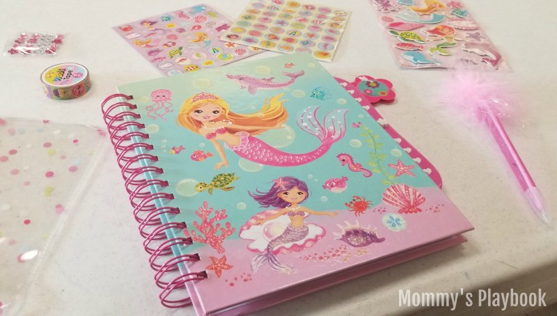 SmitCo Mermaid Scrapbook Gift Set for Girls #GiftsforGirls #GirlyGifts #Birthday #ValentinesDay
