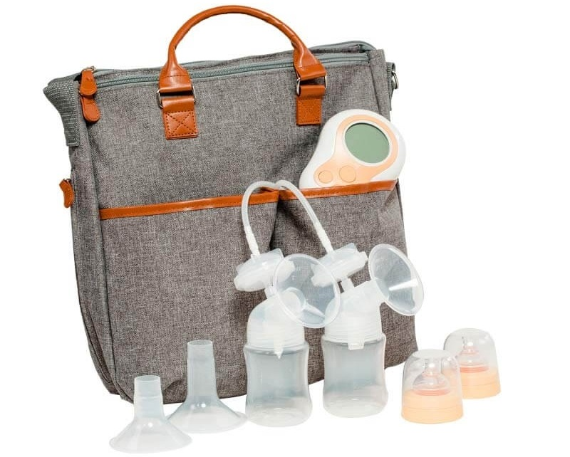 The Motif Twist Breast Pump is a lightweight and simple to use – supporting busy moms who need to pump on the go.
