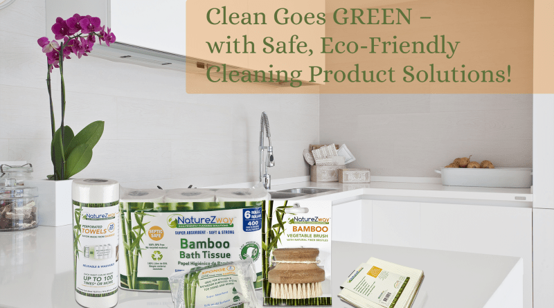 Clean Goes GREEN with #NatureZway Eco-Friendly Cleaning Product Solutions! Enter to #WIN a GoGreen cleaning bundle from @NatureZway and get 15% OFF all products on Amazon.com with discount code: GoGreen15
