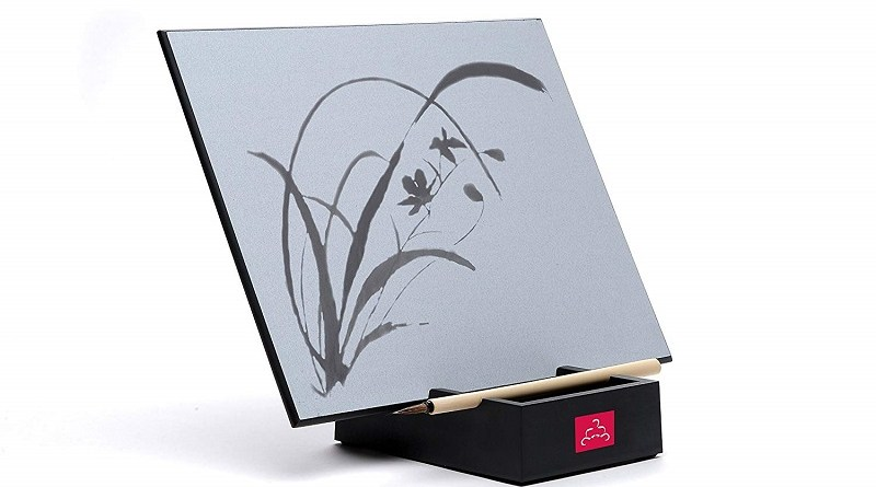 The Original Buddha Board: Relaxing Water Drawing, Painting & Writing Board with Bamboo Brush & Stand #BuddhaBoard #letgo