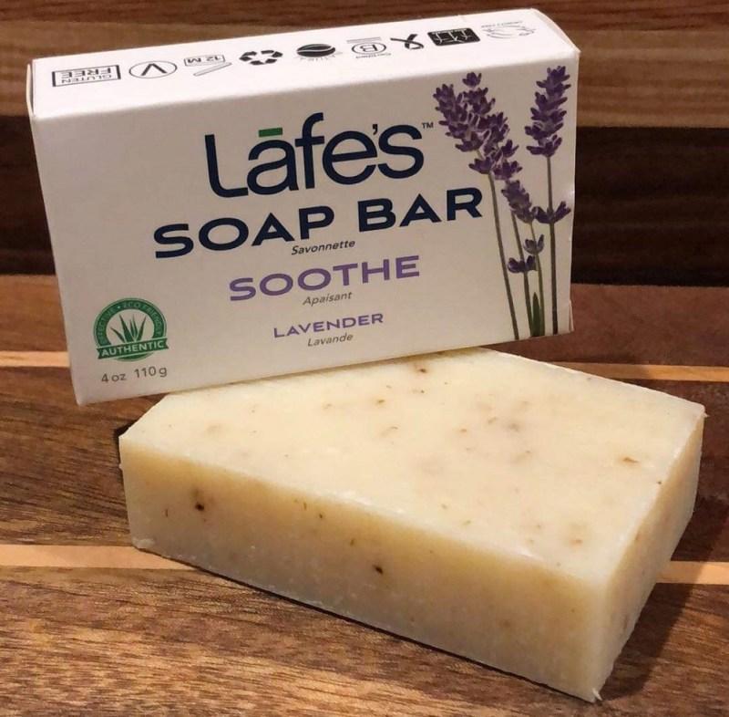 Lafe's Natural BodyCare Lavender Soap #lafesnaturalbodycare #livelovelafes #lafes