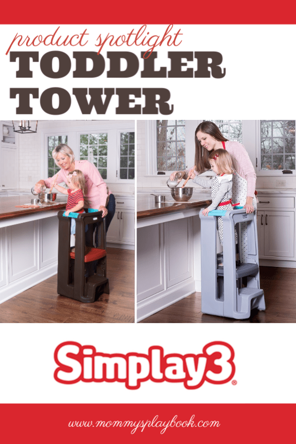 Introducing the Toddler Tower from Simplay3 #simplay3 #Americanmade #Veteranowned #toysthatlast #simpleplay