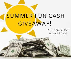 Summer Fun Cash Giveaway #Giveaway #PayPalCash
