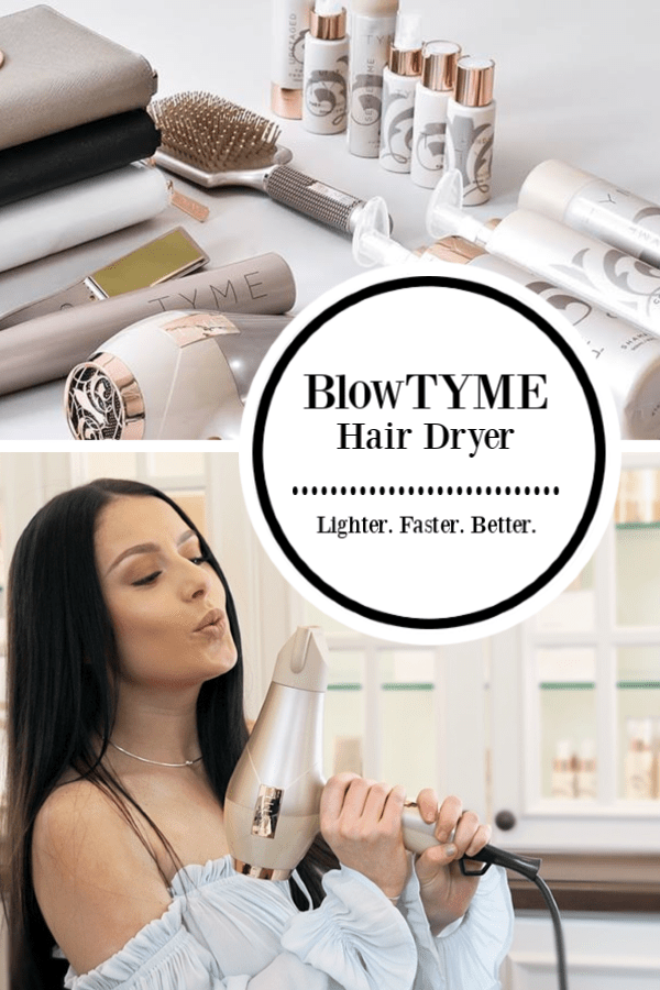 BlowTYME from TYME! TYME Hair Care and Heat Tools #TYME