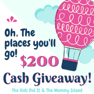 Enter to Win the $200 Cash Event at Mommy's Playbook #Back2School